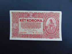 Nagyon szép ropogós Csillagos 2 korona 1920  02