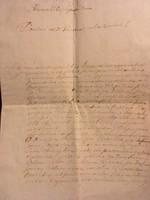 1775 Zálogfelodáshoz való jogosultság.... Mesterházy nevű kapitány aláírásával 1775