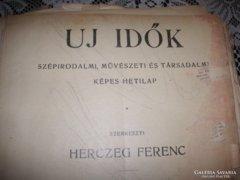 Új Idők. szerk. Herczeg Ferenc, 1926 I. félév