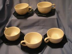 5 személyes kávés-teás Lillien Porcelán 10 DB-OS
