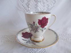 Royal Stafford porcelán csésze aljjal
