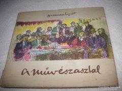 Herman Lipót: A művészasztal, 1958