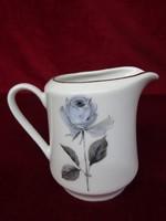 Winterling Bavaria német porcelán tejkiöntő, rózsa mintával.