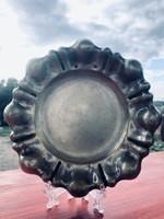 Ezüst tálca Dianás jelzés 108 g 15,5 cm
