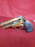 Öngyújtó pisztoly forma kettő  fajta lánggal  vintage tökéletes  működés