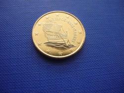 CIPRUS 50 EURO CENT 2015! HAJÓ! ! UNC! RITKA!