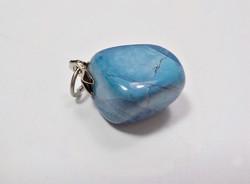 Kis kék ásvány medál