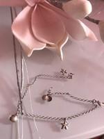 Nagyon szép ezüst karlánc Karkötő bokalánc