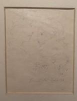 Gulácsy Lajos: Szerelem. Grafika papír. Mérete:23x26 cm. Kép 10x10 cm.