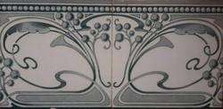 Antik Wessel´s wandplatten fabrik - Bonn szecessziós csempe a századfordulóról (1900-1910) 14,5x14,5