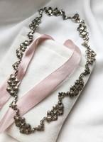 Elegáns női, ezüst nyakék