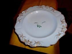 Altwien masszába nyomott méhkas jelzéssel  antik Bécsi  porcelán tányér