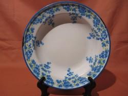 Zománcos Weiss Manfréd mély tányér