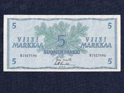 Finnország 5 Márka 1963 / id 1924/