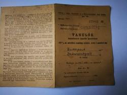 EÖTVÖS LORÁND TUDOMÁNYOS EGYETEM IGAZOLVÁNY 1956