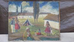 Festmény, Iványi Grünwald Béla,