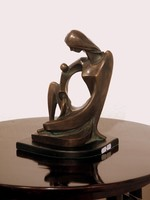 Mattis Teutsch János: Női figura 1921.