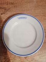 Zsolnay utasellátó tányér