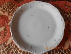 Zsolnay apróvirág mintás süteményes kínáló tál