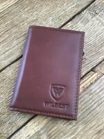 WILBEST márkájú bőr bankkártytartó, új