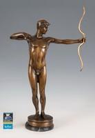 Bronz Íjász szobor