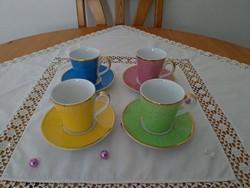 Jubileumi angol teáscsészék , gyűjtői darab  eredeti csomagban