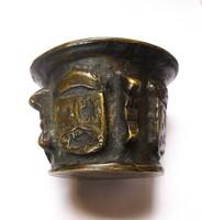 17.századi Spanyol bronz mozsár!