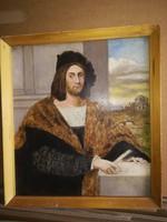 Reneszánsz férfiportré!