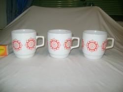 Zsolnay teás bögre, csésze - három darab
