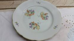 Porcelán festett kínáló tányér eladó!