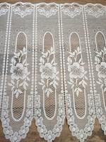 Álomszép vintage rózsás vitrázs függöny