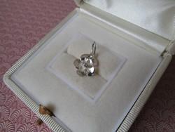 Ezüst virág medál - új ékszer