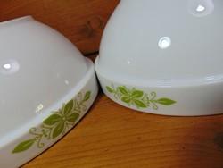 """Alföldi virágos porcelán tál , tálaló """" készlet"""""""
