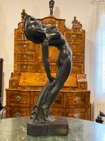 Gallas Nándor - Art Deco Női akt