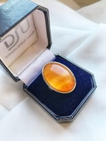 Ásványköves ezüst gyűrű - extra mutatós