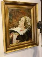 Csók István - Báthory Erzsébet portréja