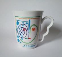 Pablo Picasso 'Ceci est on coeur' csésze-pár, 1961/2008