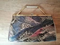 Valódi kígyóbőr táska