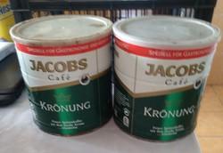 Jacobs krönung kávé, 1 kg-hoz, fém doboz, ajánljon!