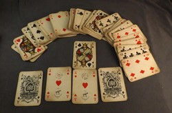 Piatnik Nándor és fiai römi kártya  védjegyes ,108 db -os  ritka !!!!! gyűjtői darab