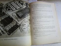M Hajková: ÉDESKÖNYV szakácskönyv cukrászat 1965