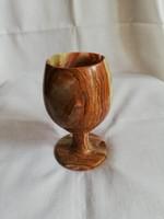 Onyx talpas váza, pohár