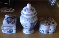 3db-s  szett kínai  porcelán