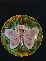 Schütz Blanskó Pillangós tányér