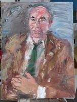 Zoltán Mária Flóra portré