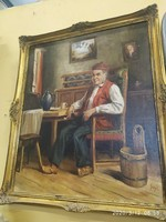 Feigl olaj festmény