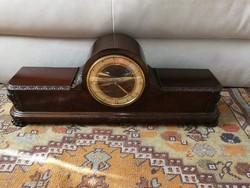 Régi asztali óra bim bam vagy bútor órának is nevezik neoreneszánsz stílusjegyekkel