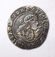 Lipót VI krajcár 1671 KB
