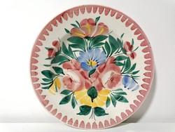 Körmöcbányai fali tányér (307)