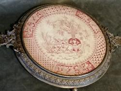 Antik  úri edényalátét